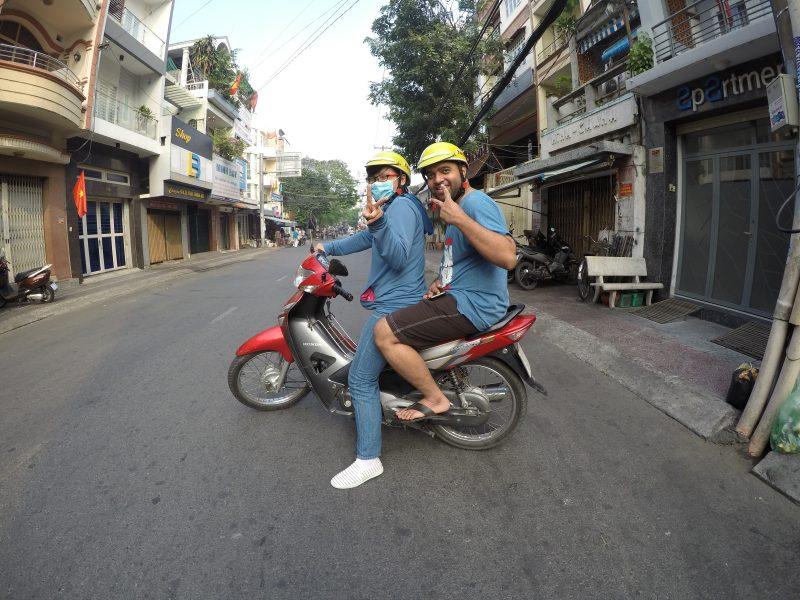 Saigon city street food tour