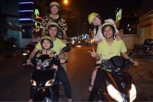 Kids on a Motorbike Tour