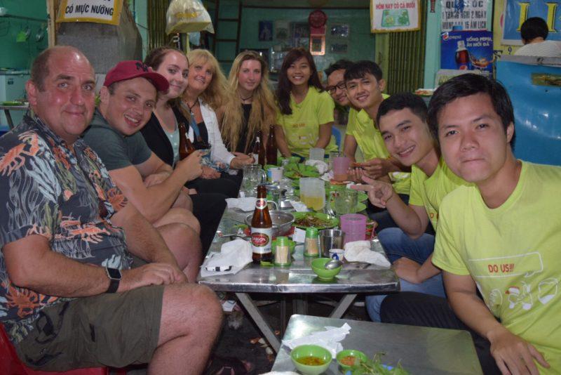 Food Tour with Saigon on Bikes